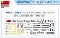 MiniArt 1/35 Tramway X-Series Mid Type # 38026